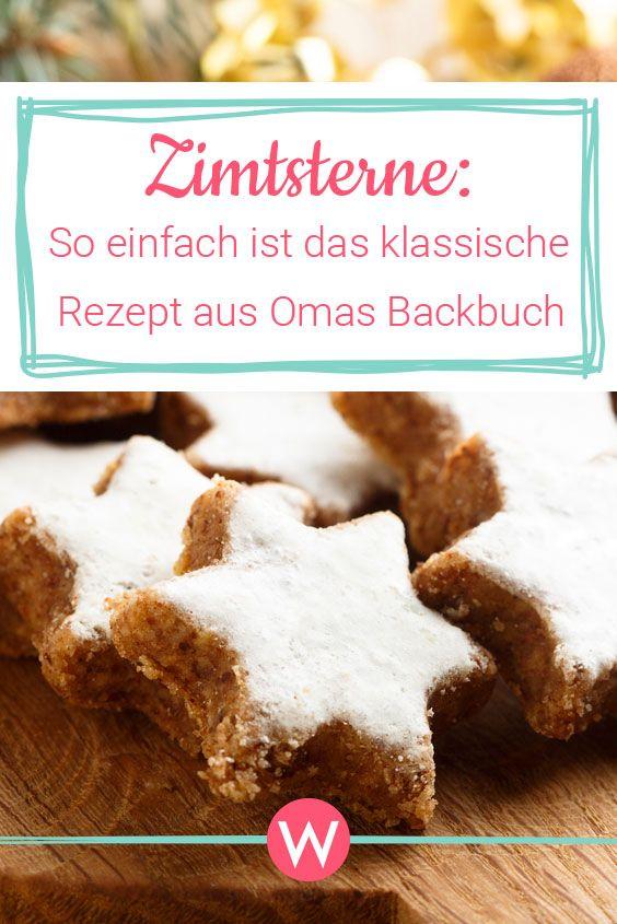 Zimtsterne – das klassische Rezept aus Omas Backbuch