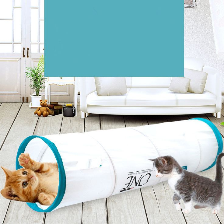 Pet Tunnel Cat Lovely Crinkly Kitten Tunnel Toy With Ball Play Fun Toy Tunnel Bulk Cat Toys Rabbit Play Tunnel Training Toys //Price: $22.20      #followme