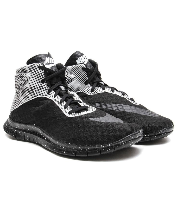 Nike Free Hypervenom Mid QS (Black/Pure Platinum-Blue Lagoon)