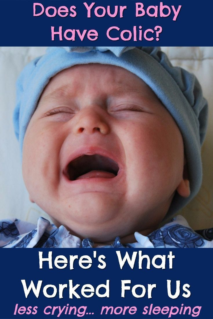 Baby colic remedies that worked for our colicky baby