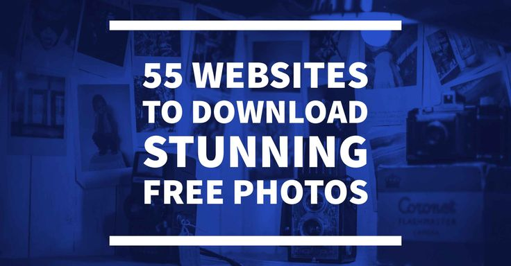 Now it's easy to pick a picture that compliments your content from the huge list of websites that are supplying free stock photos.