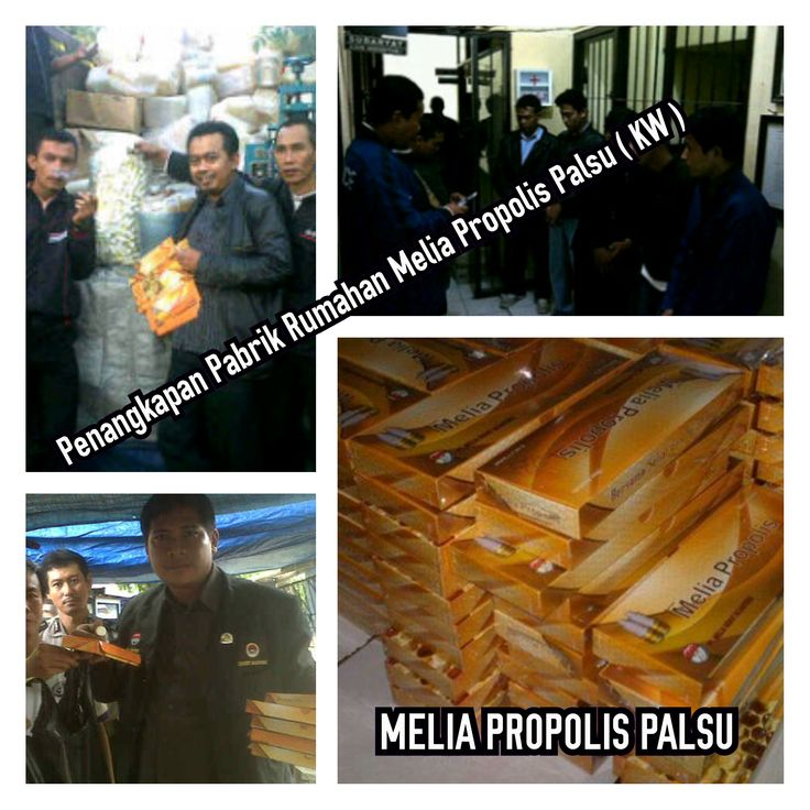 Melia Propolis Palsu