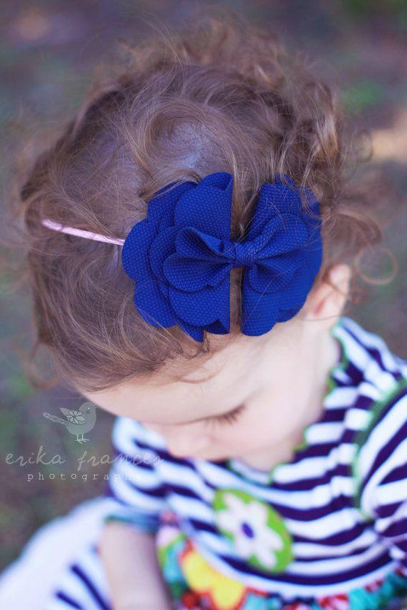 Baby Headbands... Baby Girl Headband... por BelleBandsBoutique