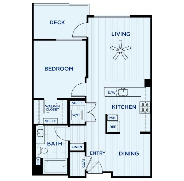 25 Best 1 Bedroom Floorplans Images On Pinterest Apartment Floor Plans Plan Plan And Compact