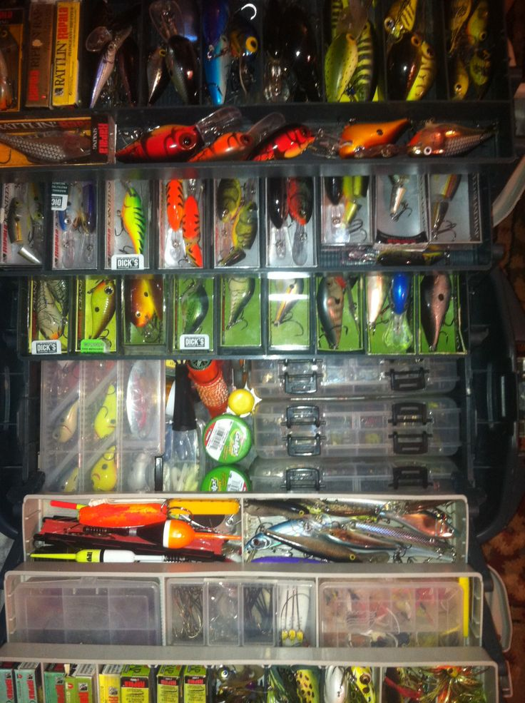 Stocked tackle box might be more than the casual angler for Fish and tackle