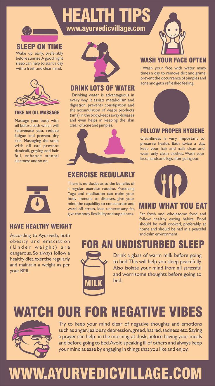 General Health Tips to stay Healthy!