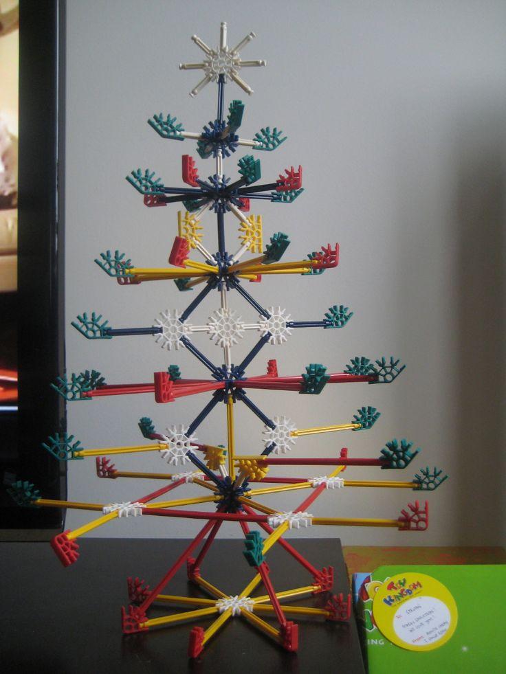 kerstboom knex