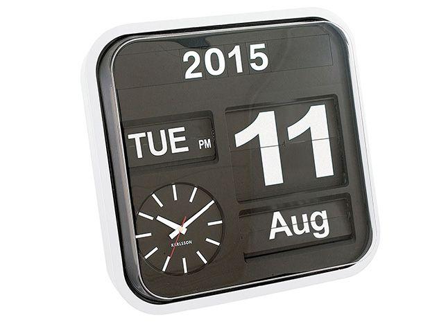 Present Time - Wall clock Big Flip