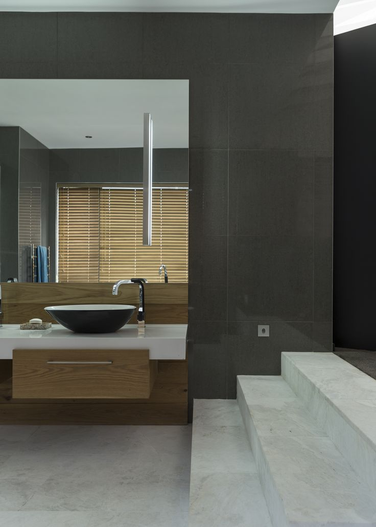 customed designed bathrooma with incredible sanware