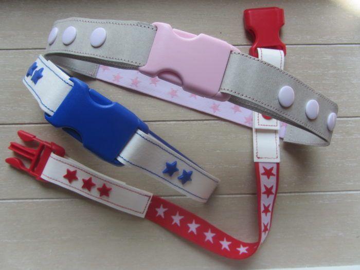DIY - Gürtel für Kinder. Hier findet ihr die Anleidung für einen Gürtel aus Gummiband, SnapPap und Kam Snaps und einer Schnalle.