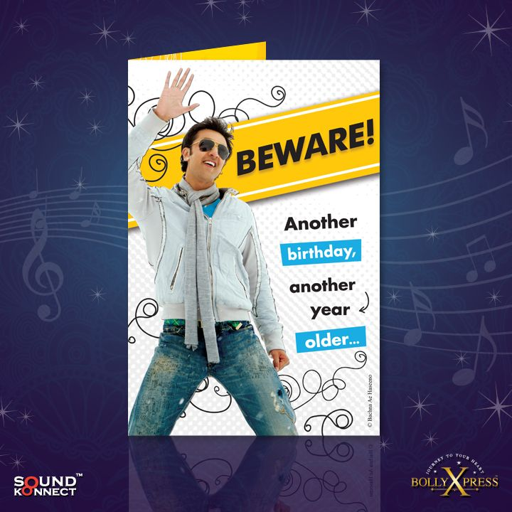 24 best Bollywood Musical Greeting Cards images – Bollywood Birthday Card