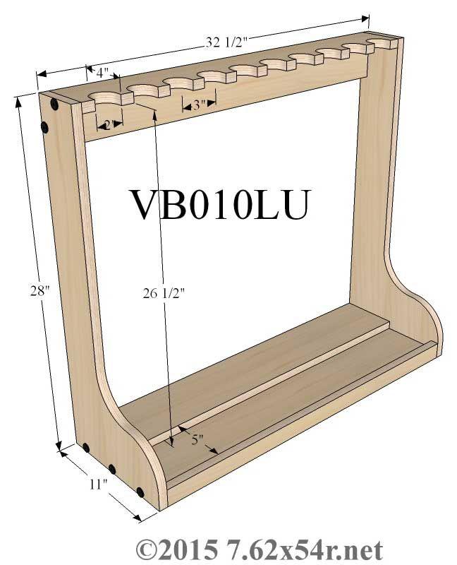Vertical Wall Gun Racks u2026