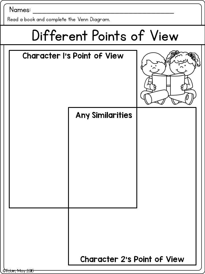 Printables Point Of View Worksheets 5th Grade 1000 ideas about point of view on pinterest text structures comparing points rl2 6