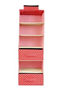 Amazon  Buy My Gift Booth Cotton Wardrobe Organiser Red at Rs.449 only