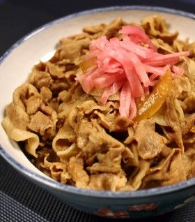 【再現】吉野家の豚丼♪ by クッキングSパパ [クックパッド] 簡単おいしいみんなのレシピが270万品