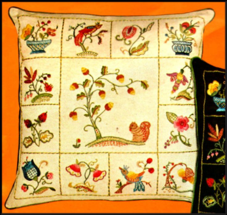 1000 Images About VINTAGE EMBROIDERY KITS On Pinterest