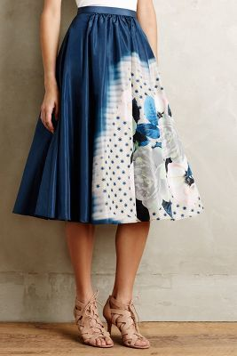 Tracy Reese Moonflower Skirt #anthrofave