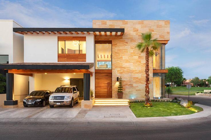 5 casas modernas con sus planos que te inspirarán a diseñar la tuya (De GracielaGomezOrefebre)