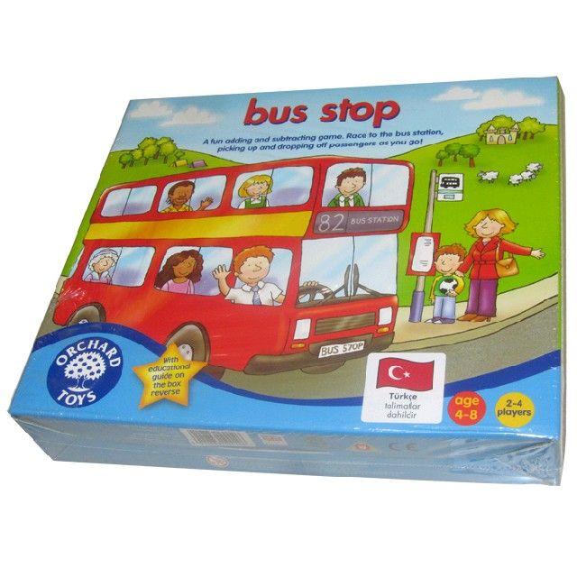 Автобусная остановка. О том, как играть с маленькими детьми.