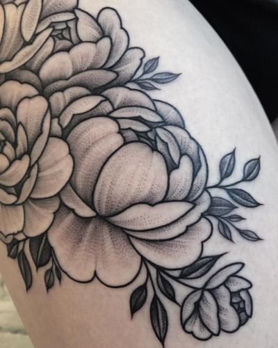 peony tattoos | Tumblr                                                                                                                                                                                 More