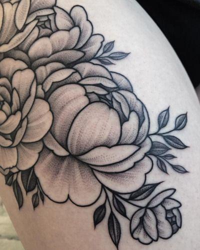 peony tattoos | Tumblr                                                                                                                                                                                 More