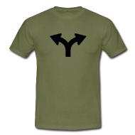 Links oder Rechts, Mens T-Shirt via www.