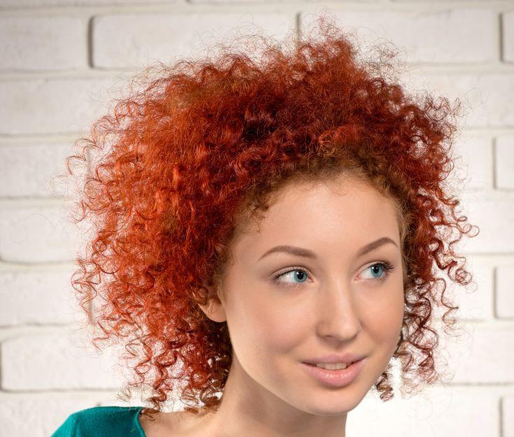 Capelli Ricci Scalati Corti curly short hair