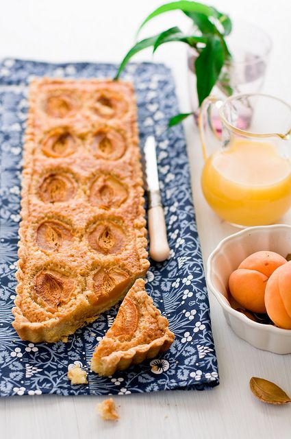 Apricot Tart from Cooking for Pleasure