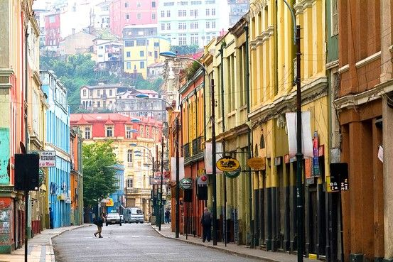 Valparaiso, Chile - second largest city in Chile, World Heritage Site, Pablo Neruda's home's are here