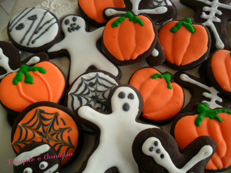Biscotti+decorati+per+Halloween