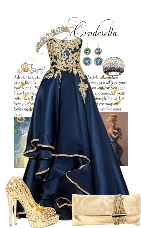 """""""Hey Hey Cinderella"""" by michelle-hersh-wenger on Polyvore"""