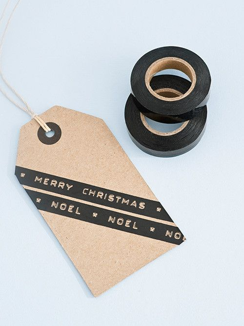 Another great christmas idea! Create your own label tags. #Dymo #label #christmas