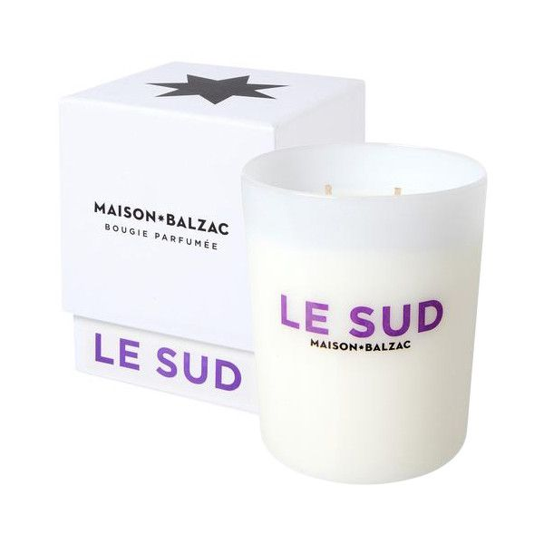 Shop Maison Balzac Le Sud Candle at Modalist | M0001000000773 (4,805 INR) ❤ liked on Polyvore featuring home, home decor and candles & candleholders