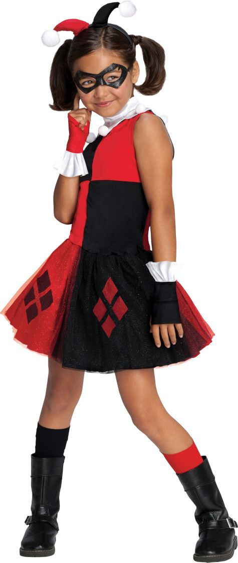 Girls Harley Quinn Costume - Party City