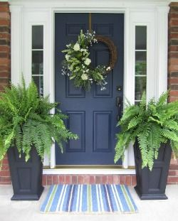 5 Simple but Gorgeous Front Door Transformations via Schlage