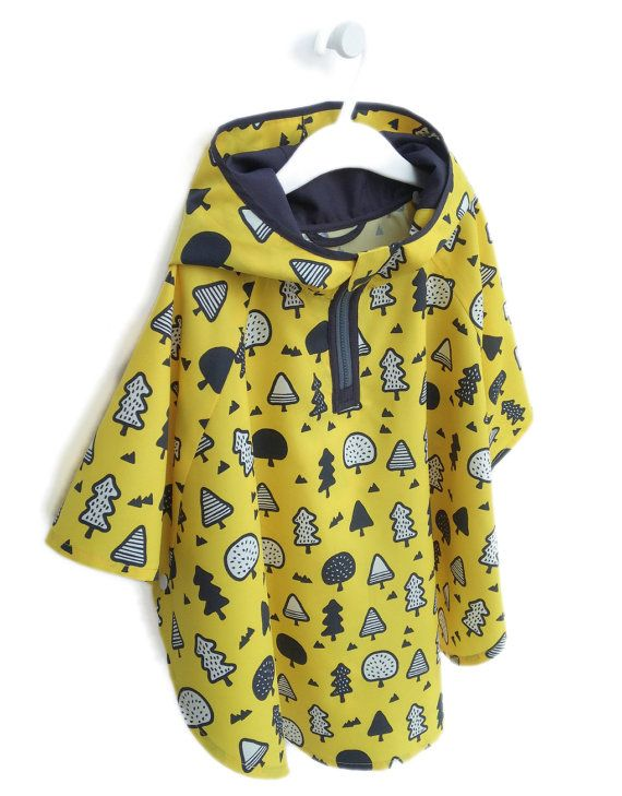 OGG Kids Rain Coat Rain Jacket Poncho Clothes  by OggDesign