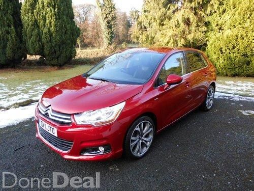 2011 CITREON C4 EXCLUSIVE 1.6HDI LOW MILAGE.110BHP
