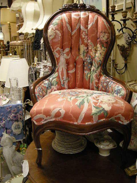 Victorian Carved Back Floral Upholstered Lady Chair - 78 Best VICTORIAN Images On Pinterest Victorian Furniture