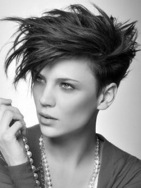 Cool 1000 Images About Sidecut Hairstyles On Pinterest Mohawks Side Short Hairstyles Gunalazisus