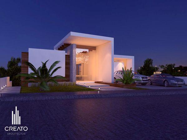 Las palomas house by Creato Arquitectos, via Behance