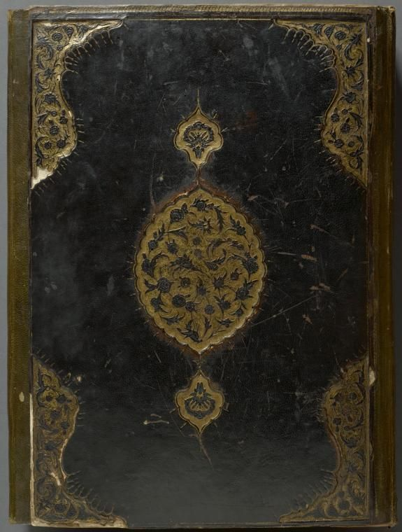 Front cover of binding