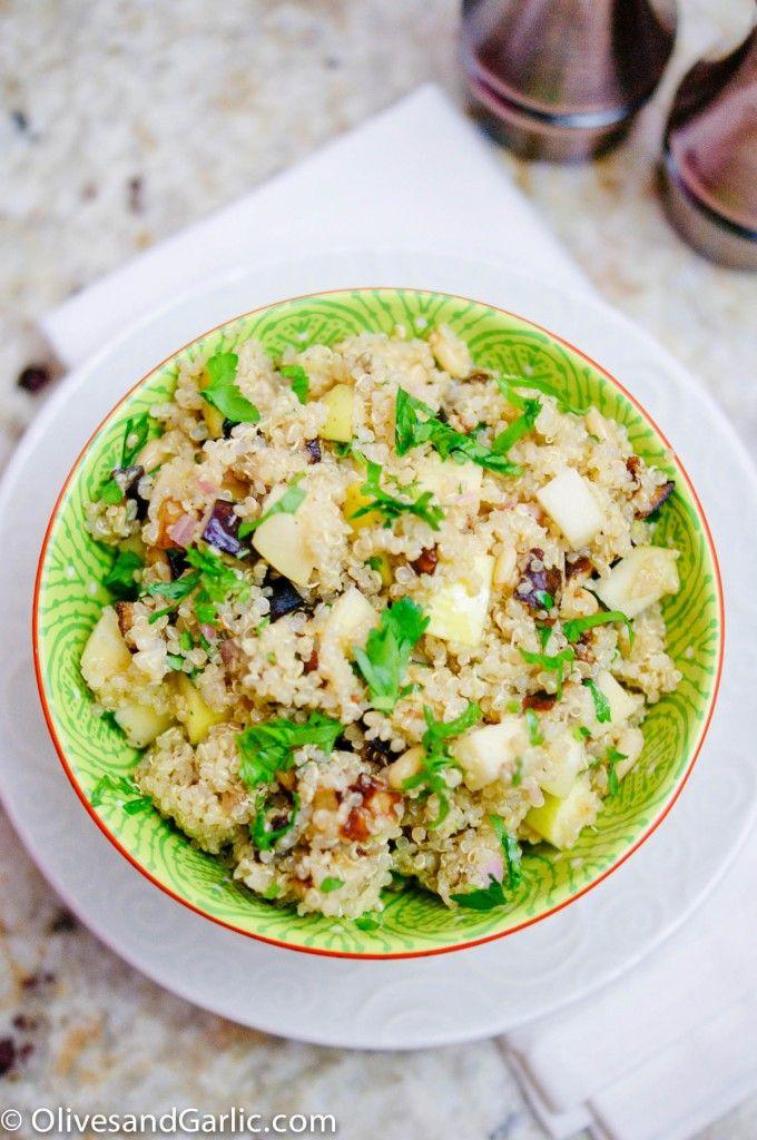 Cozy Roasted Pepper & Eggplant Salad Recipes — Dishmaps