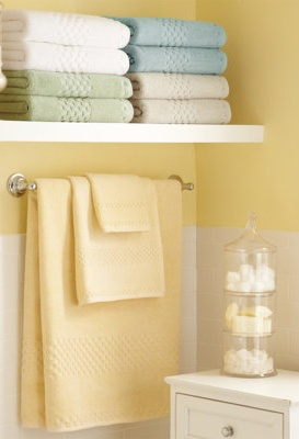 Best Bathroom Images On Pinterest Home Decor Woodwork And Abcs - Yellow bath towels for small bathroom ideas