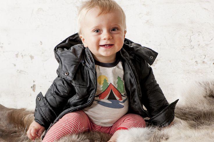OUCH Baby Clothing #boysfashion #babyfashion #jacket #winter #camping #photoshoot