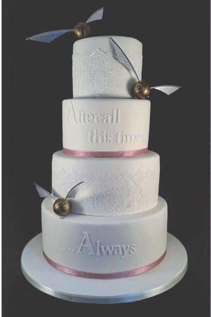 11 böse magische Harry-Potter-Kuchen für die ultimative Zaubererhochzeit   – wedding cakes fondant