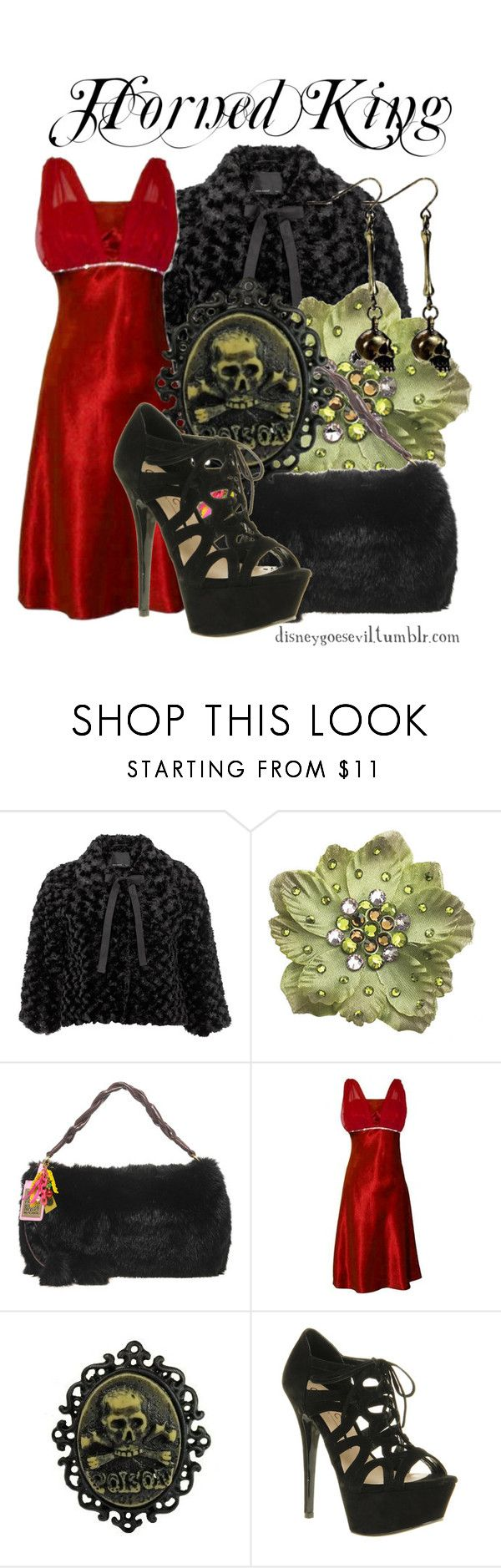 """Horned King"" by disney-villains ❤ liked on Polyvore featuring Vero Moda, Tarina Tarantino, Paul's Boutique, PacificPlex and Office"