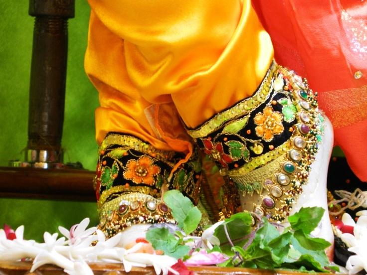 Lotusfeet of Sri Krishna @ISKCONPune