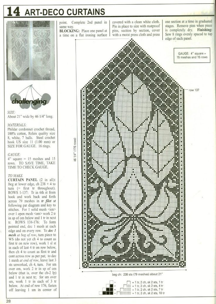 Free Filet Crochet Curtain Patterns Image Collections Knitting