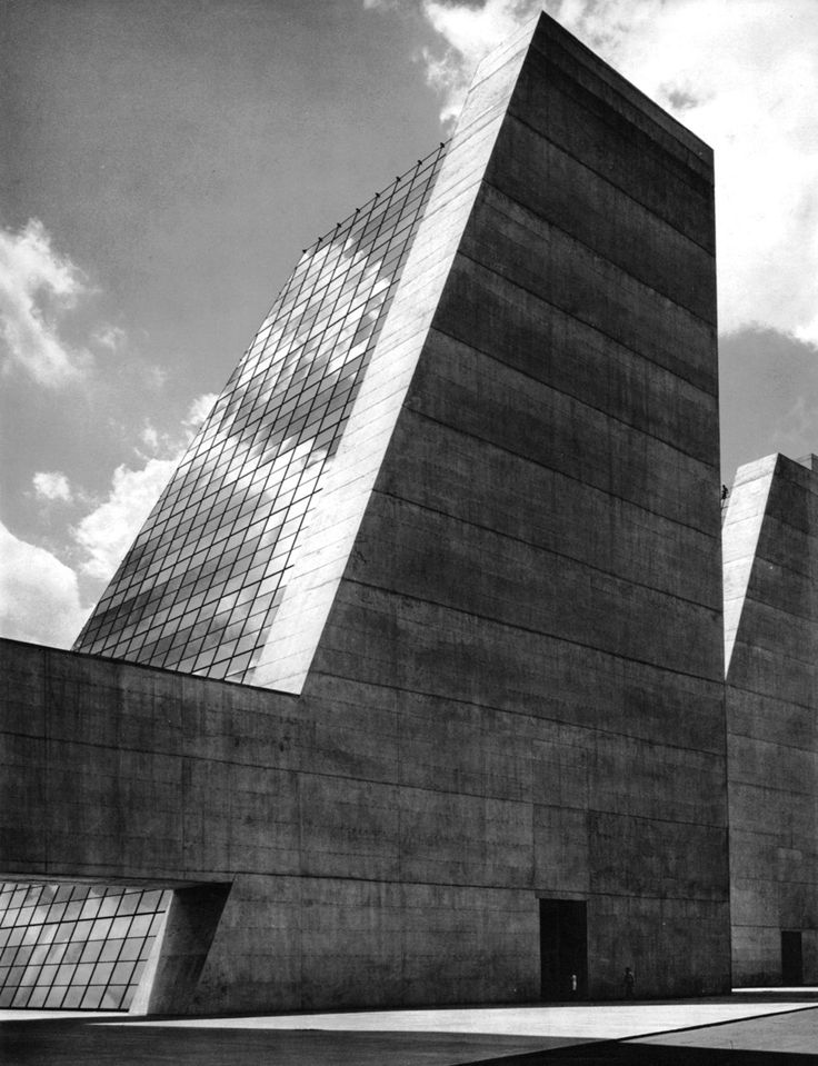 College Life Insurance Company Headquarters, Indianapolis, Indiana, 1967  (Kevin Roche John Dinkeloo