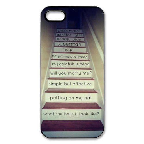 One Direction Harry Styles Quotes Cell Phone Plastic Hard Case Cover For iphone 5 5S/ 6 TQI MSC